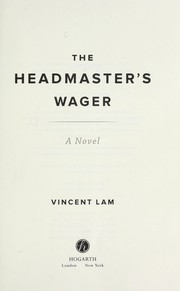 Cover of: The headmaster's wager