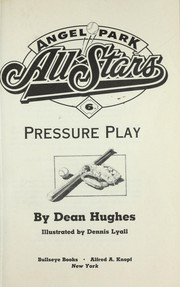 Cover of: Pressure play
