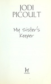 Cover of: My sister's keeper