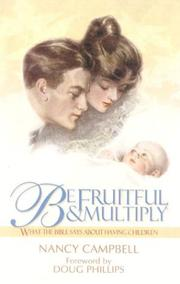 Cover of: Be Fruitful and Multiply