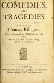 Cover of: Comedies and tragedies