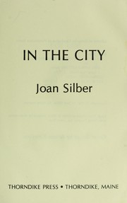 Cover of: In the city | Joan Silber