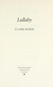 Cover of: Lullaby | Claire Seeber
