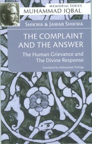 Cover of: The Complaint and The Answer