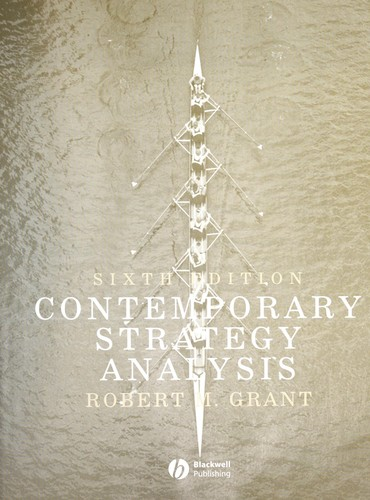 contemporary strategy analysis 7th edition If searching for a ebook by robert m grant contemporary strategy analysis 7th (seventh) edition in pdf format, then you've come to correct site.