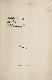 "Cover of: Adventures of the ""Venture"""