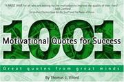 Cover of: 1001 Motivational Quotes for Success
