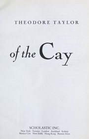 Cover of: Timothy of the cay