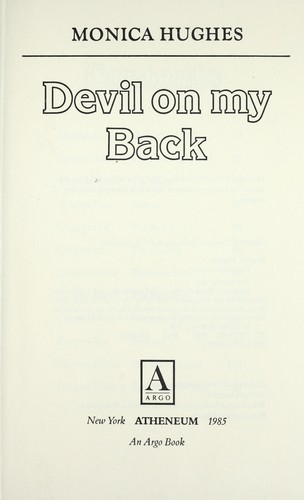 Devil on my back