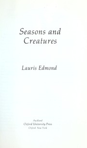 Cover of: Seasons and creatures
