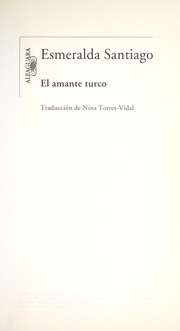 Cover of: El amante turco