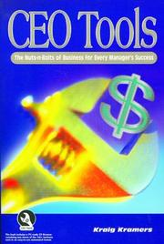 Cover of: CEO Tools