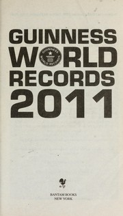 Cover of: Guinness world records 2011