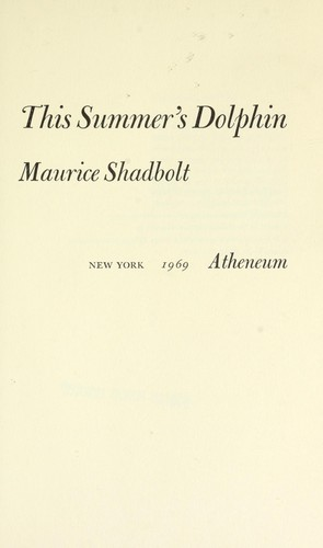 This summer's dolphin.