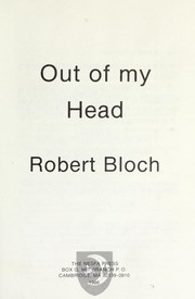 Cover of: Out of my head