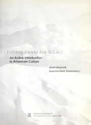 Cover of: Talking about the U.S.A