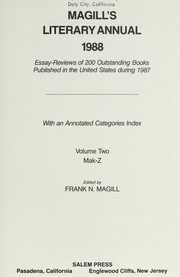 Cover of: Magill