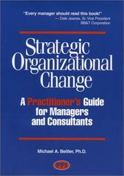 Cover of: Strategic Organizational Change