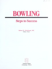 Cover of: Bowling | Robert Strickland