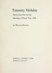 Cover of: Treasury holiday