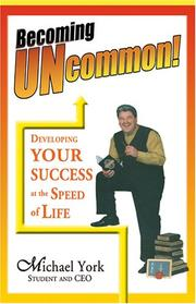 Cover of: Becoming Uncommon