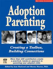Cover of: Adoption Parenting |