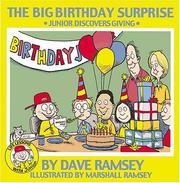 Cover of: The big birthday surprise