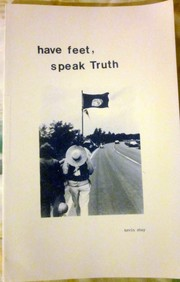 Cover of: Have feet, speak truth | Kevin J. Shay