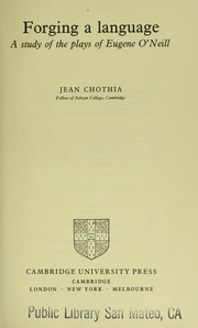 Forging a language by Jean Chothia