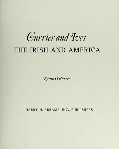 Currier and Ives by Kevin O'Rourke