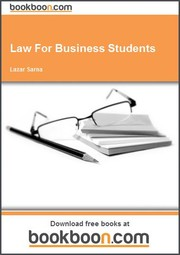 Cover of: Law For Business Students | Lazar Sarna