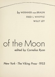 Cover of: Conquest of the moon