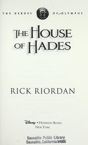 The house of Hades (#4 Heroes of Olympus)