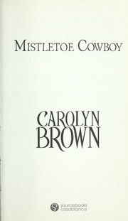 Cover of: Mistletoe cowboy