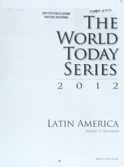 Cover of: Latin America 2012 | Robert T. Buckman
