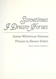 Cover of: Sometimes I dream horses