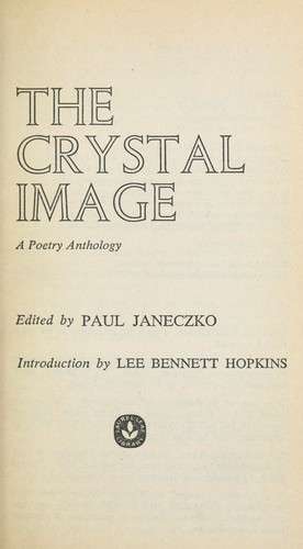 The crystal image : a poetry anthology by