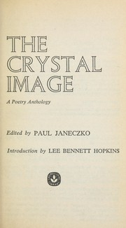 Cover of: The crystal image : a poetry anthology |