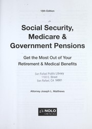 Cover of: Social security, Medicare & government pensions