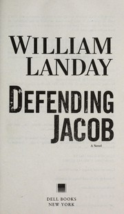 Cover of: Defending Jacob