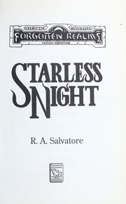 Starless Night by R. A. Salvatore
