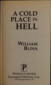 Cover of: A cold place in hell | William Blinn