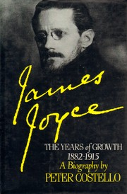 James Joyce by Peter Costello