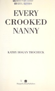 Cover of: Every crooked nanny