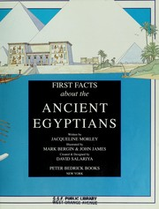 Cover of: First facts about the ancient Egyptians