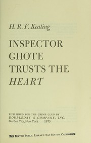 Cover of: Inspector Ghote trusts the heart