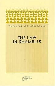 Cover of: The Law in Shambles