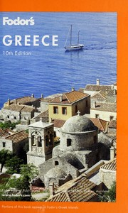 Cover of: Fodor's Greece