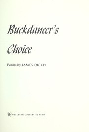 Cover of: Buckdancer's choice