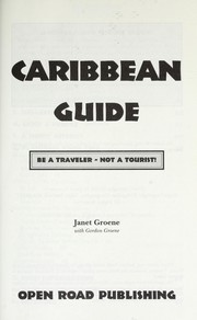 Cover of: Caribbean guide
